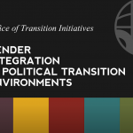 Watch Gender in Political Transition Environments