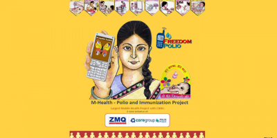 Freedom Polio India mHealth program